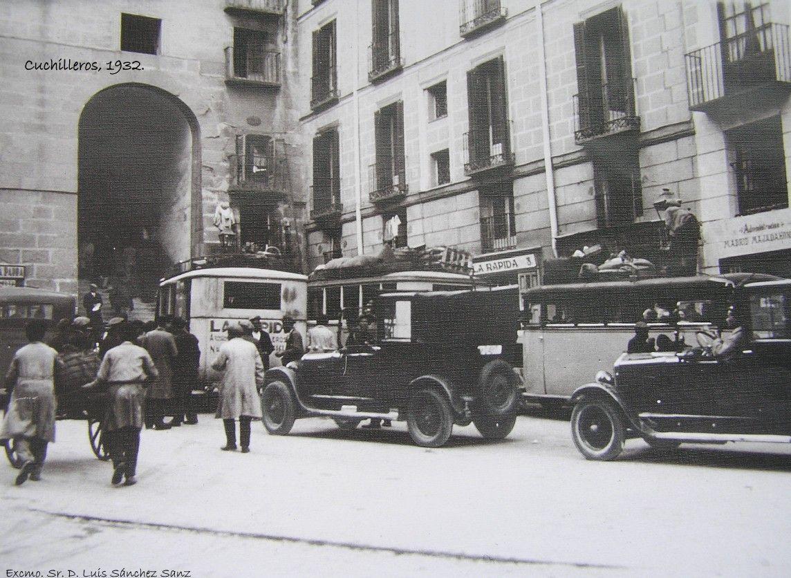 fotos-antiguas-de-madrid:-el-arco-de-cuchilleros-(1932)